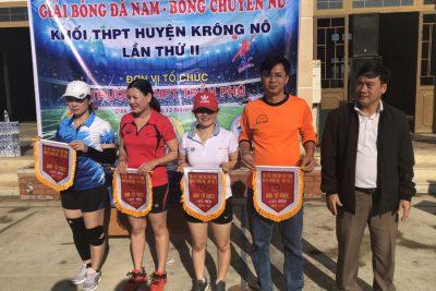 Giải bóng đá nam, bóng chuyền nữ khối THPT huyện Krông Nô lần thứ II năm 2020
