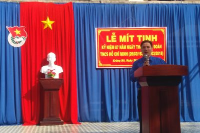 Lễ Mít tinh kỷ niệm 87 năm ngày thành lập Đoàn thanh niên Cộng sản Hồ Chí Minh (26/3/1931 – 26/3/2018)